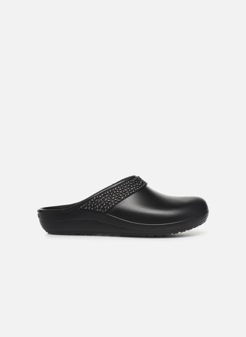 Wedges Crocs SlnDiamntClgW Zwart achterkant