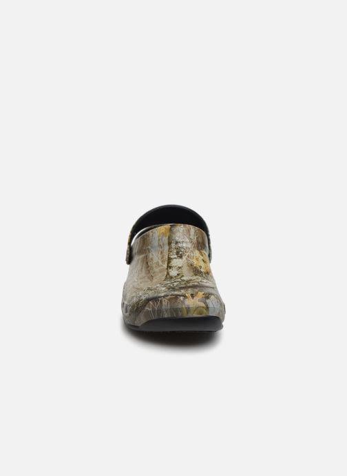 Sandales et nu-pieds Crocs BistroRTEdgeClg Marron vue portées chaussures