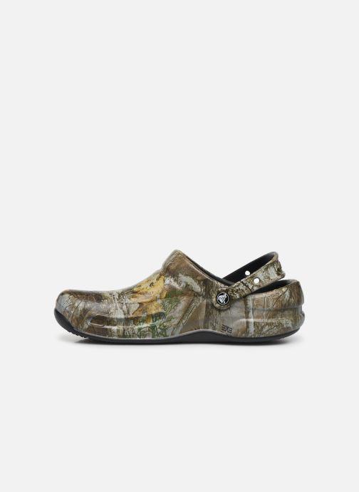 Sandals Crocs BistroRTEdgeClg Brown front view