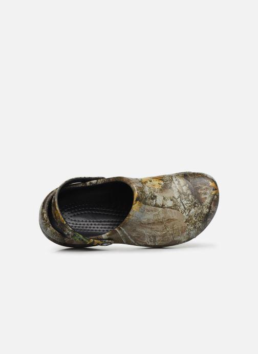 Sandales et nu-pieds Crocs BistroRTEdgeClg Marron vue gauche