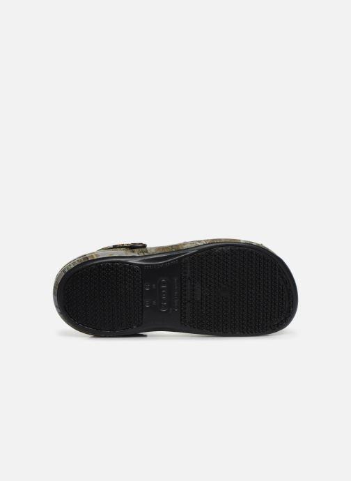 Sandales et nu-pieds Crocs BistroRTEdgeClg Marron vue haut