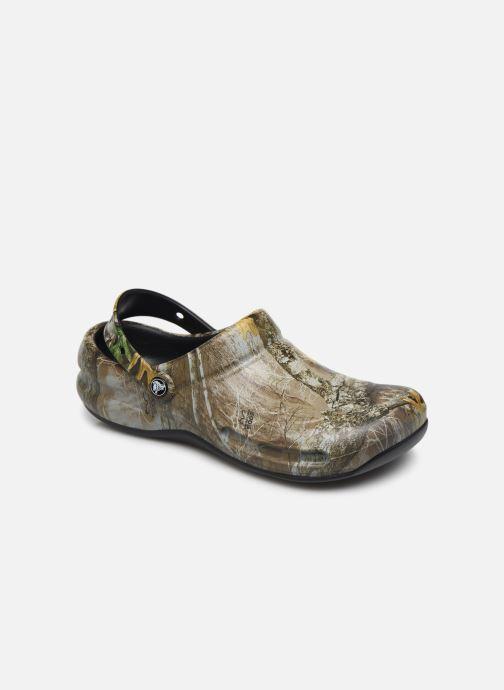 Sandales et nu-pieds Crocs BistroRTEdgeClg Marron vue détail/paire