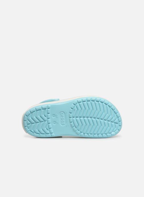 Zuecos Crocs CBPlatformClg W Azul vista de arriba