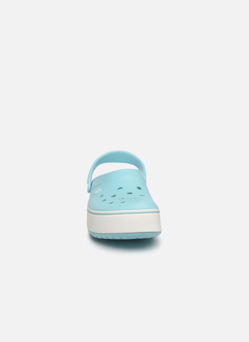 Sandals Crocs CBPlatformClg Blue model view