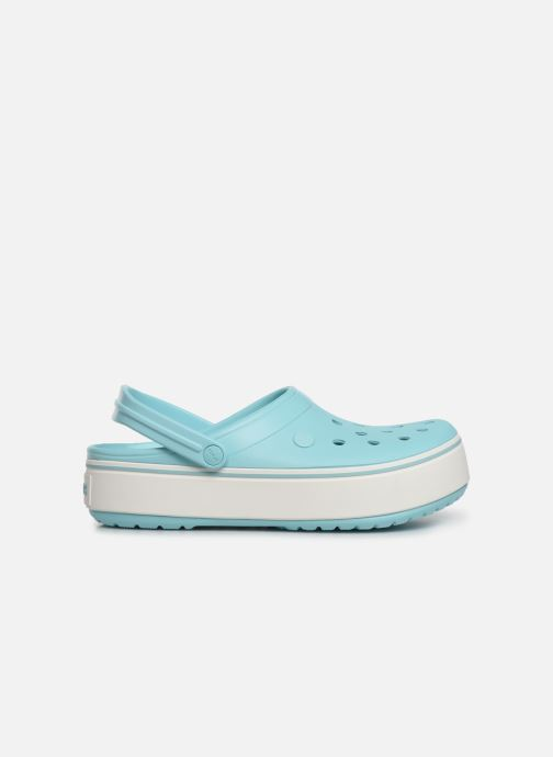 Sandals Crocs CBPlatformClg Blue back view