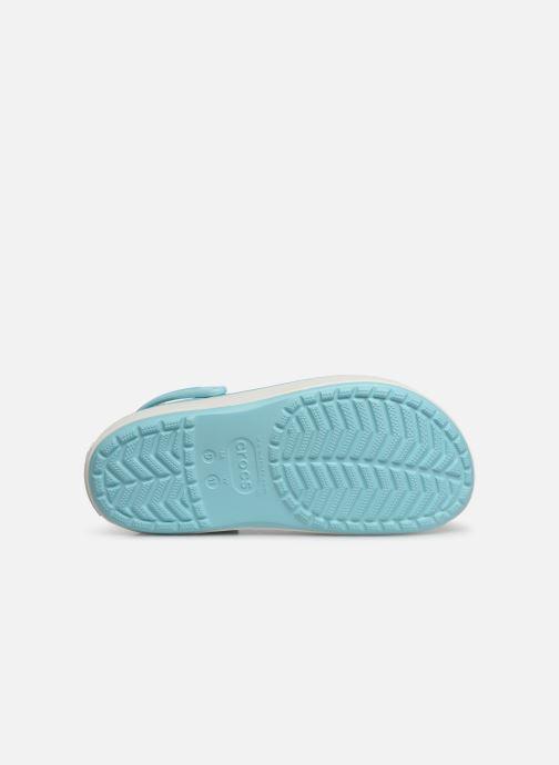 Sandals Crocs CBPlatformClg Blue view from above