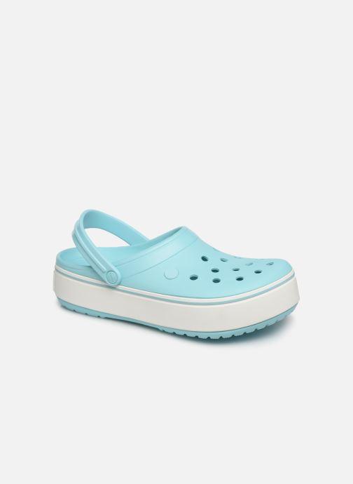 Sandals Crocs CBPlatformClg Blue detailed view/ Pair view