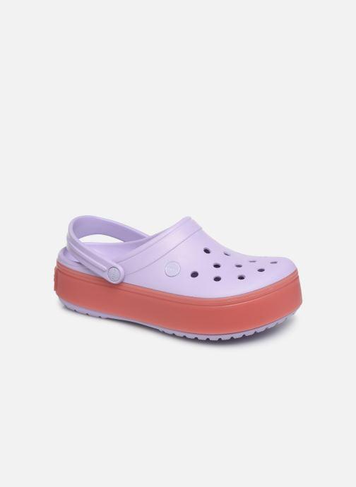 Clogs og træsko Crocs CBPlatformClg Lilla detaljeret billede af skoene