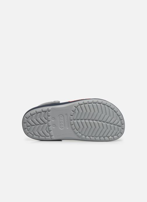 Clogs & Pantoletten Crocs CrocbandLgClg W grau ansicht von oben