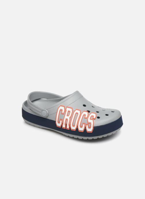 Mules et sabots Crocs CrocbandLgClg W Gris vue détail/paire