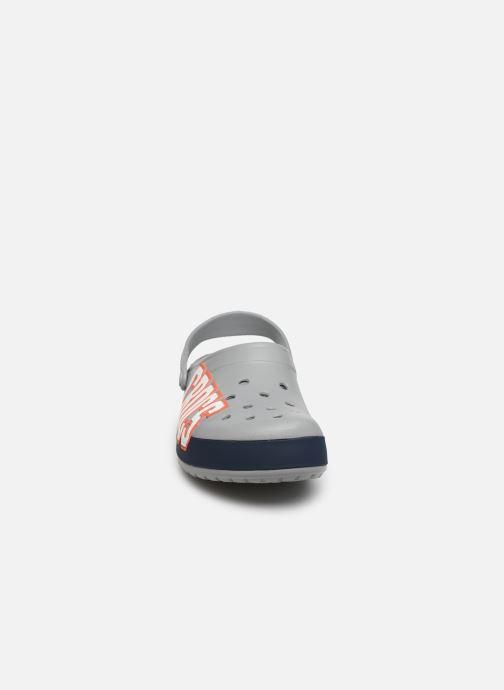 Sandalen Crocs CrocbandLgClg grau schuhe getragen