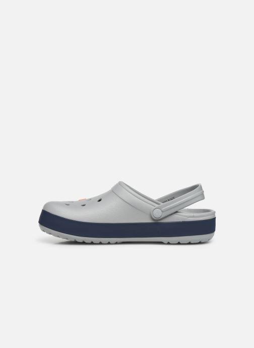 Sandalen Crocs CrocbandLgClg grau ansicht von vorne