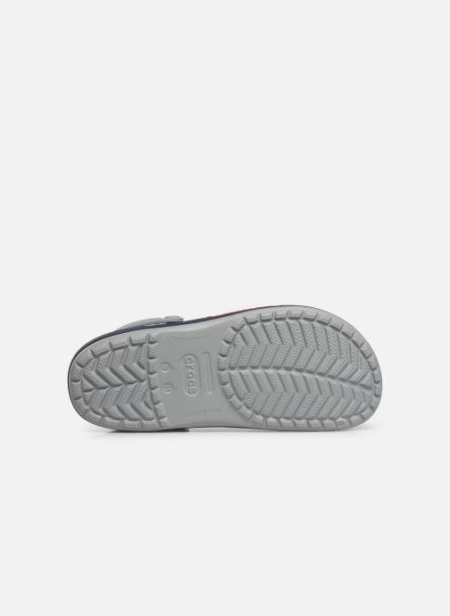 Sandalen Crocs CrocbandLgClg grau ansicht von oben