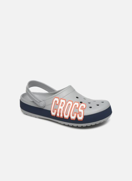 Sandals Crocs CrocbandLgClg Grey detailed view/ Pair view