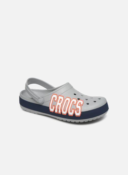 Sandalias Crocs CrocbandLgClg Gris vista de detalle / par