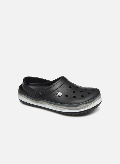 Clogs og træsko Crocs CrocbandWvyBClg W Sort detaljeret billede af skoene