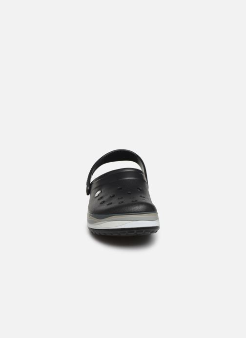 Sandals Crocs CrocbandWvyBClg Black model view