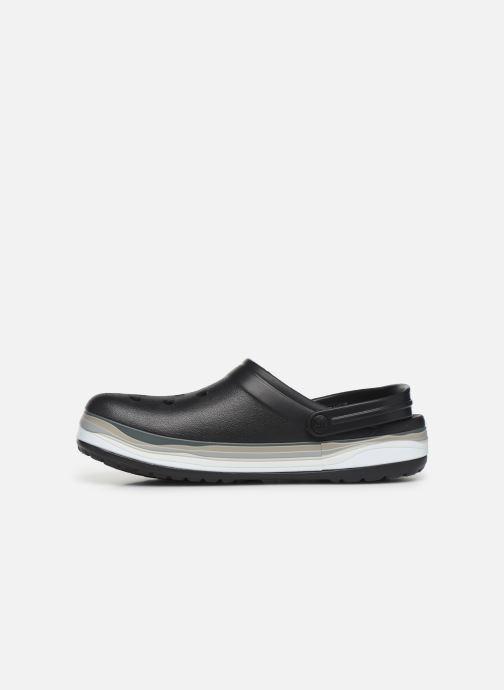 Sandals Crocs CrocbandWvyBClg Black front view