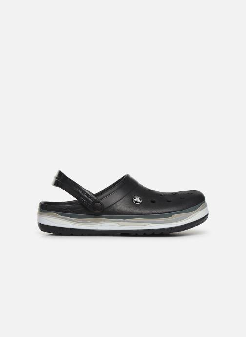 Sandals Crocs CrocbandWvyBClg Black back view