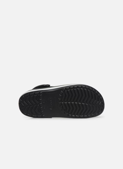 Sandals Crocs CrocbandWvyBClg Black view from above