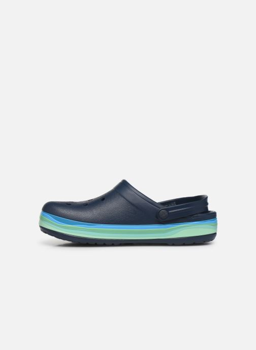 Sandals Crocs CrocbandWvyBClg Blue front view