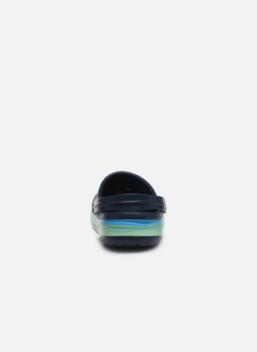 Sandali e scarpe aperte Crocs CrocbandWvyBClg Azzurro immagine destra