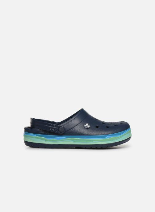 Sandals Crocs CrocbandWvyBClg Blue back view