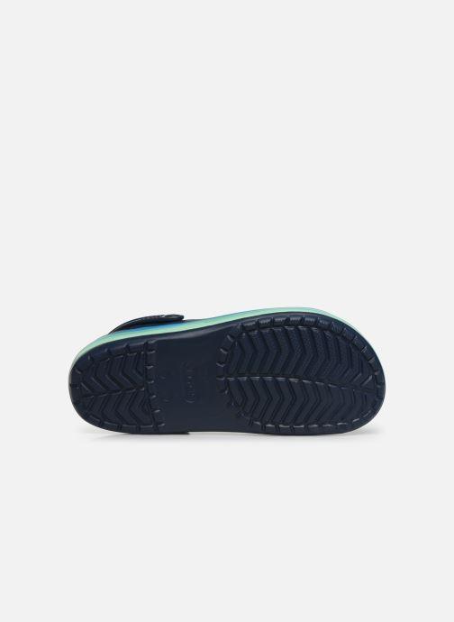 Sandali e scarpe aperte Crocs CrocbandWvyBClg Azzurro immagine dall'alto