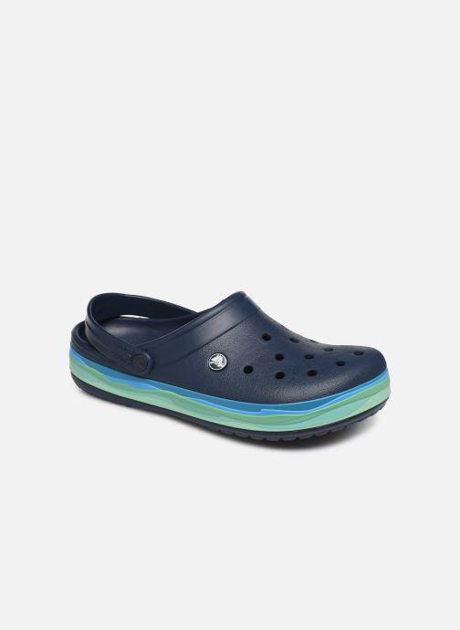 Sandals Crocs CrocbandWvyBClg Blue detailed view/ Pair view