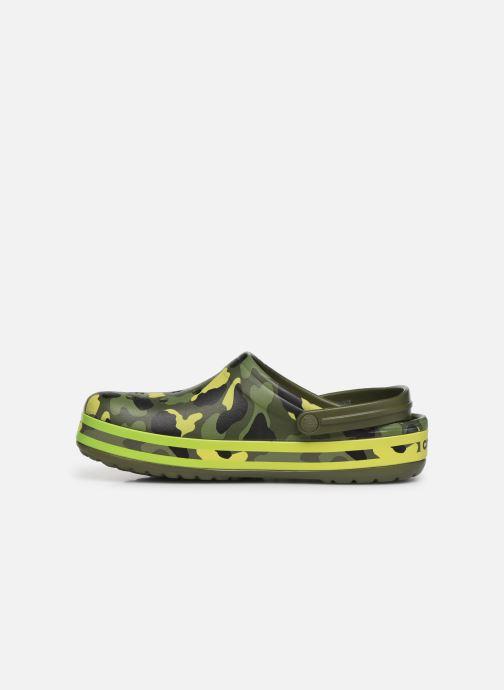 Sandals Crocs Crocband Seasonal Graphic Clog Green front view