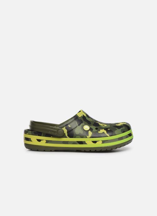 Sandals Crocs Crocband Seasonal Graphic Clog Green back view