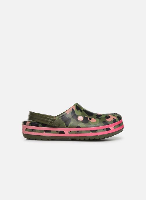 Sandales et nu-pieds Crocs Crocband Seasonal Graphic Clog Vert vue derrière