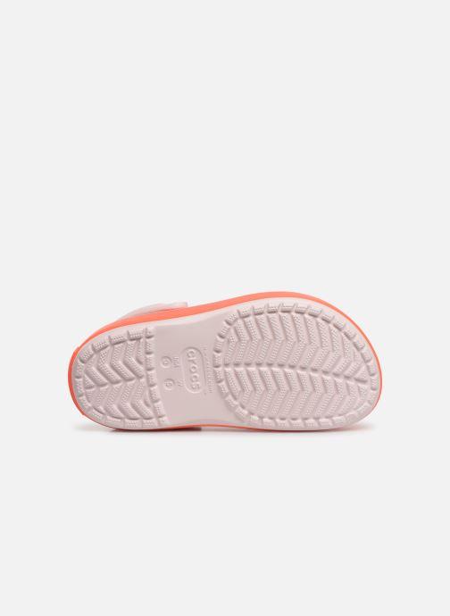 Sandali e scarpe aperte Crocs CBPltfrmClgGS Rosa immagine dall'alto