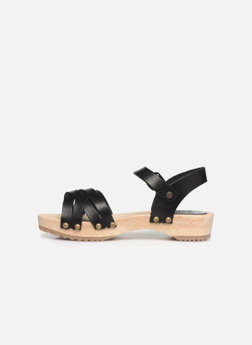 Sandalen Kickers Solar Zwart voorkant