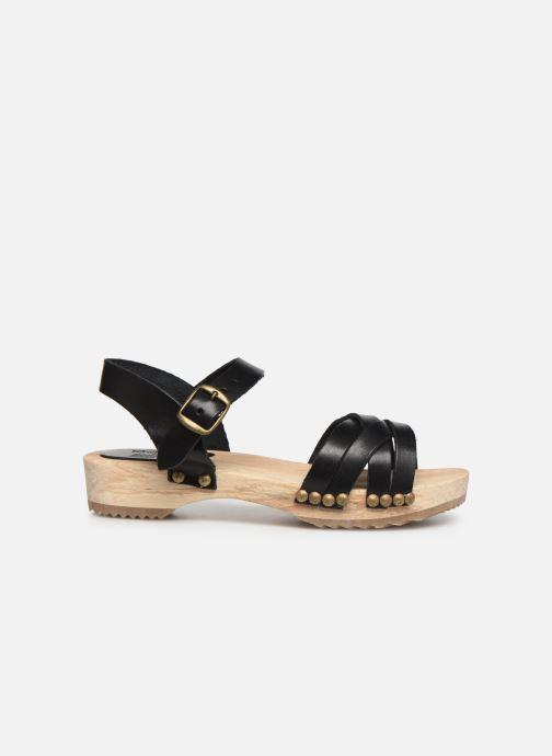 Sandalen Kickers Solar Zwart achterkant