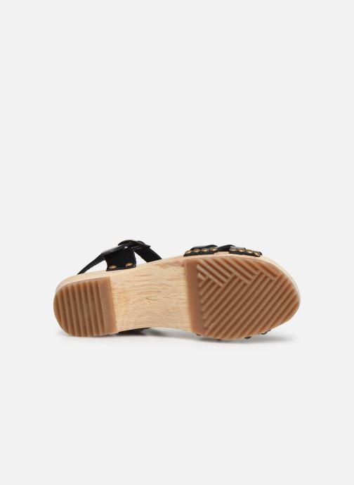 Sandali e scarpe aperte Kickers Solar Nero immagine dall'alto