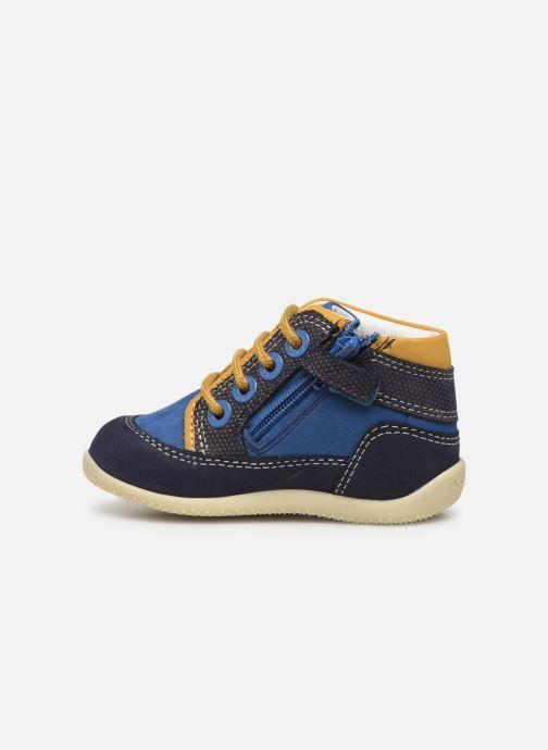 Boots en enkellaarsjes Kickers Biboy Blauw voorkant