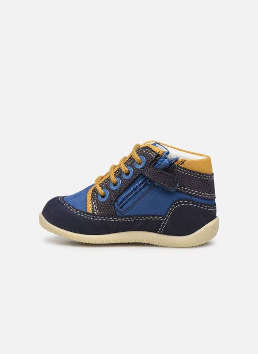 Bottines et boots Kickers Biboy Bleu vue face
