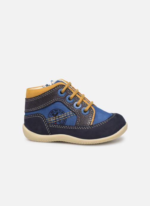 Bottines et boots Kickers Biboy Bleu vue derrière