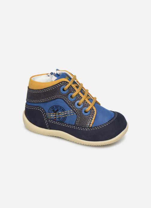 Boots en enkellaarsjes Kickers Biboy Blauw detail