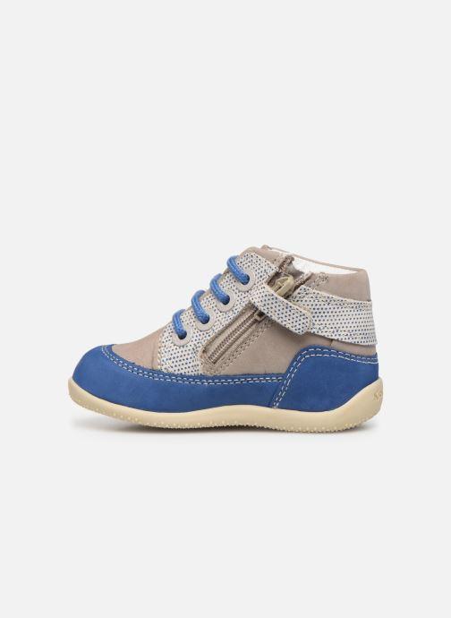 Boots en enkellaarsjes Kickers Biboy Grijs voorkant