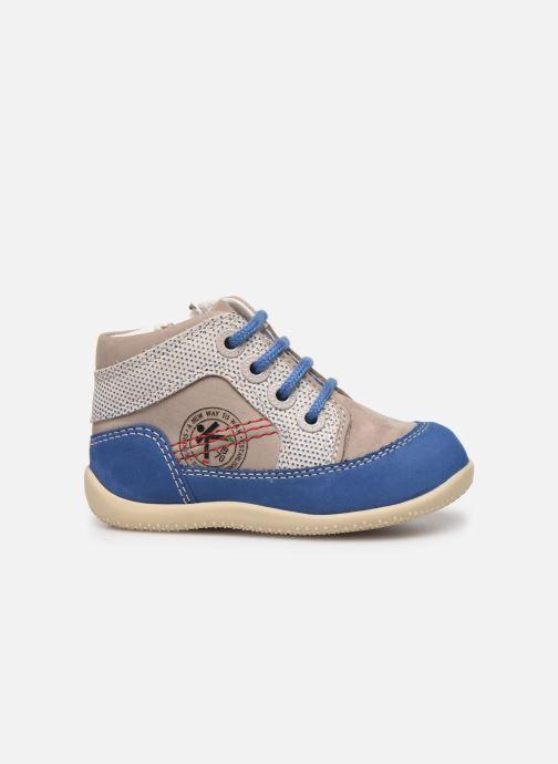 Boots en enkellaarsjes Kickers Biboy Grijs achterkant