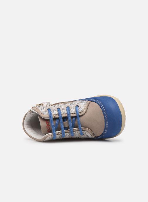 Boots en enkellaarsjes Kickers Biboy Grijs links