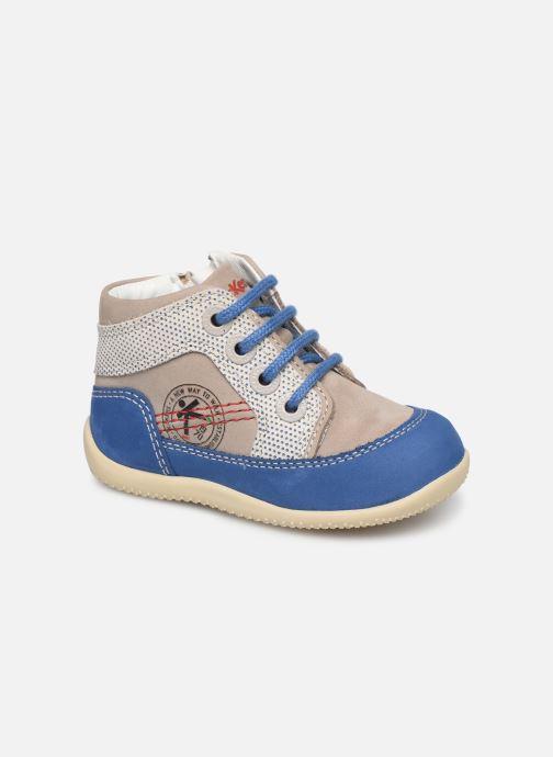 Ankelstøvler Kickers Biboy Grå detaljeret billede af skoene