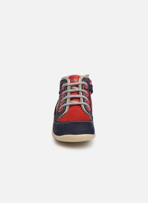 Ankelstøvler Kickers Biboy Rød se skoene på