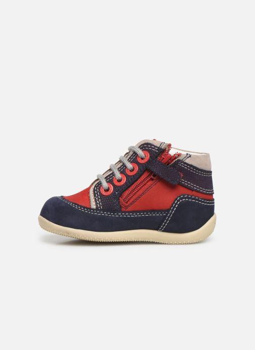 Boots en enkellaarsjes Kickers Biboy Rood voorkant