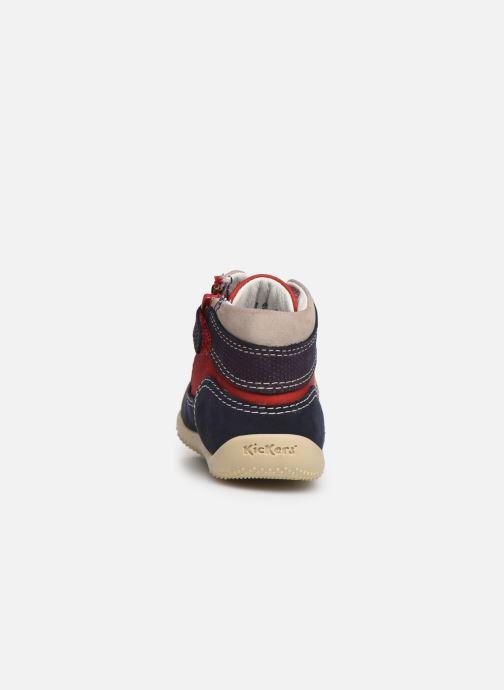 Boots en enkellaarsjes Kickers Biboy Rood rechts
