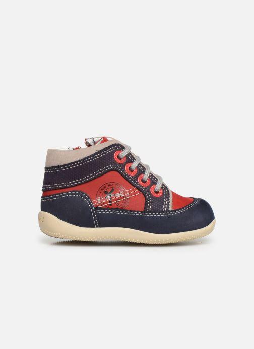 Boots en enkellaarsjes Kickers Biboy Rood achterkant