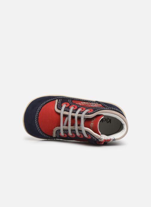 Boots en enkellaarsjes Kickers Biboy Rood links