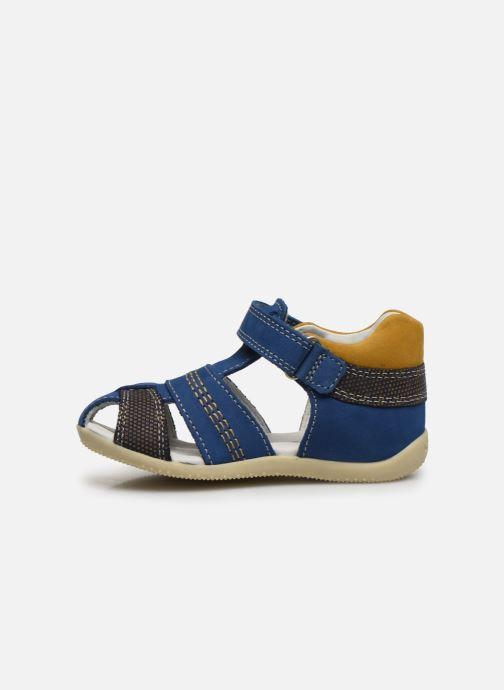 Sandalen Kickers Bonus blau ansicht von vorne